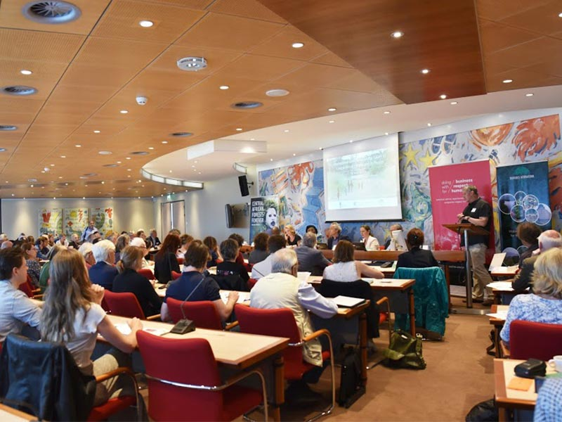 Future of Central African Forests Tropenbos Conference The Hague