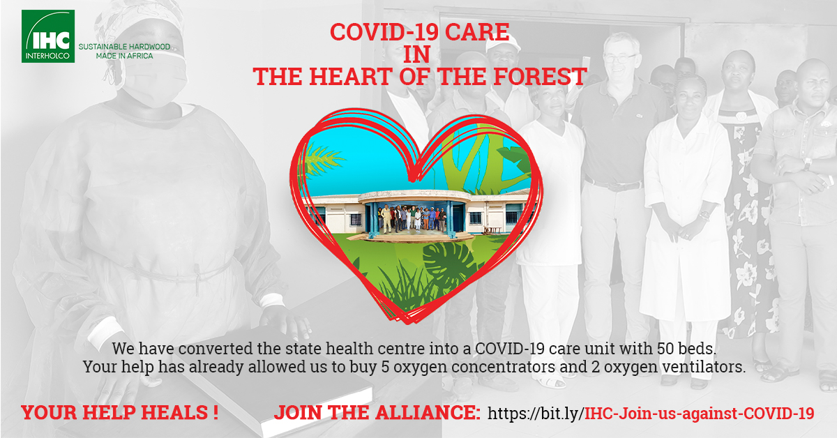 INTERHOLCO Covid 19 care in the heart of the forest