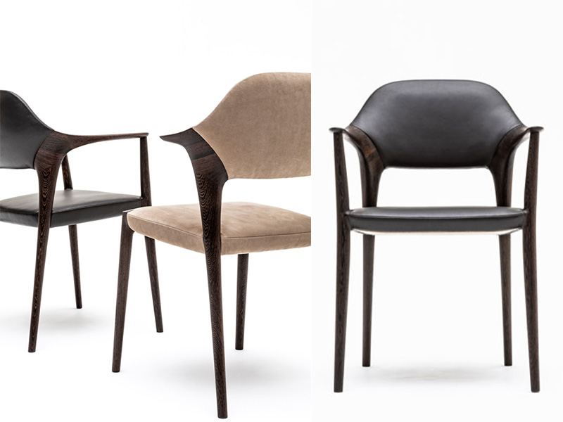 duo Inoda + Sveje may just have created the perfect seating collection in Wenge, produced by Japanese furniture manufacturer Karimoku